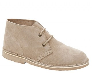 Roamers Desert Ankle Boots taupe