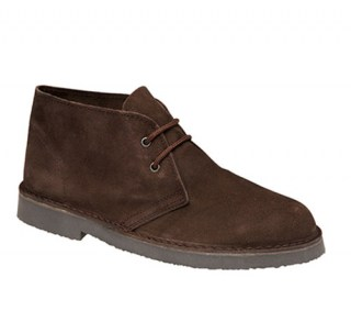 Roamers Desert Ankle Boots Brown
